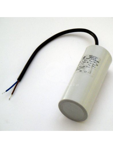 Condensatore con cavo 12,5µF