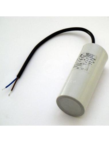 Condensatore con cavo 16µF