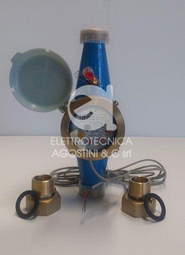 """Contatore d'acqua a turbina con emettitore di impulsi 1""""1/2"""