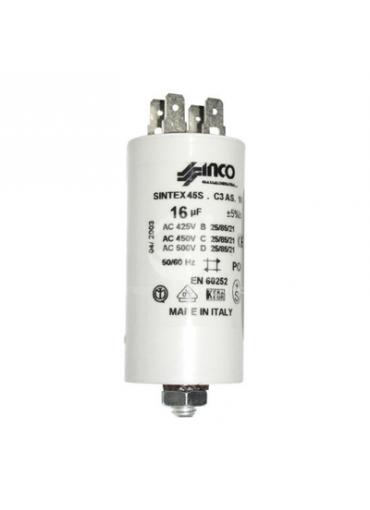 Condensatori con faston - Elettrotecnica Agostini & C. SRL