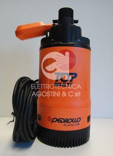 Elettropompa Pedrollo Top Multi 2 - 75HP 220V con galleggiante