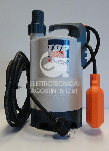 Elettropompa Pedrollo Top 2 Vortex - 50HP 220V con galleggiante