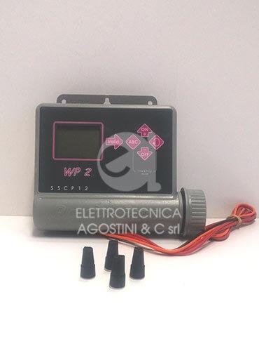 Programmatore Elettronico a Batteria 2 zone Rain Bird WP2