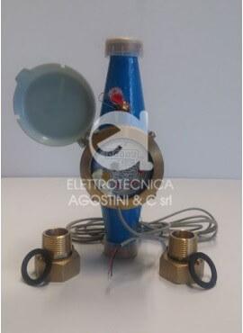 Contatore d'acqua a turbina con emettitore di impulsi 1