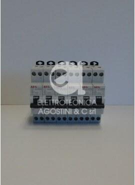 Kit N°6 Interruttori automatici magnetotermici misti AEG