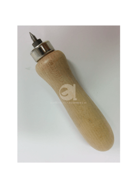 Punteruolo in legno per microtubo 3mm