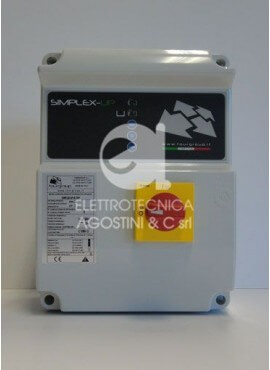 Quadro comando SIMPLEX-UP-T Fourgroup 380V. 1P. 10HP