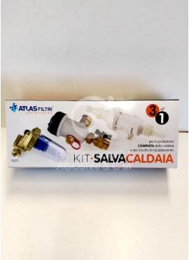 Kit SalvaCaldaia 3 in 1 per caldaia a condensazione