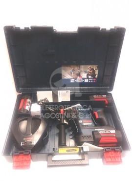 Martello a percussione a batteria Bosch GBH 36 VF-LI con 3 batterie