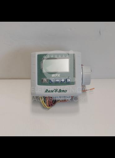 Programmatore Rain Bird Monostazione a batteria WPX1 a 9V.